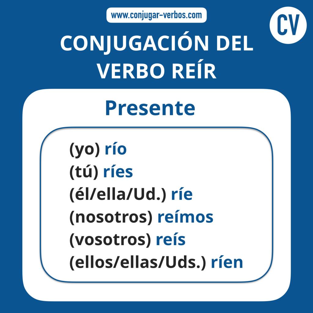 Conjugacion del verbo reir   Conjugacion reir
