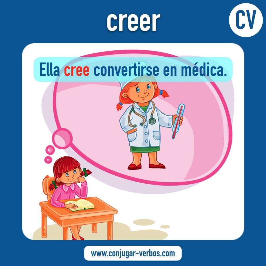 verbo creer   creer   imagen del verbo creer   conjugacion del verbo creer