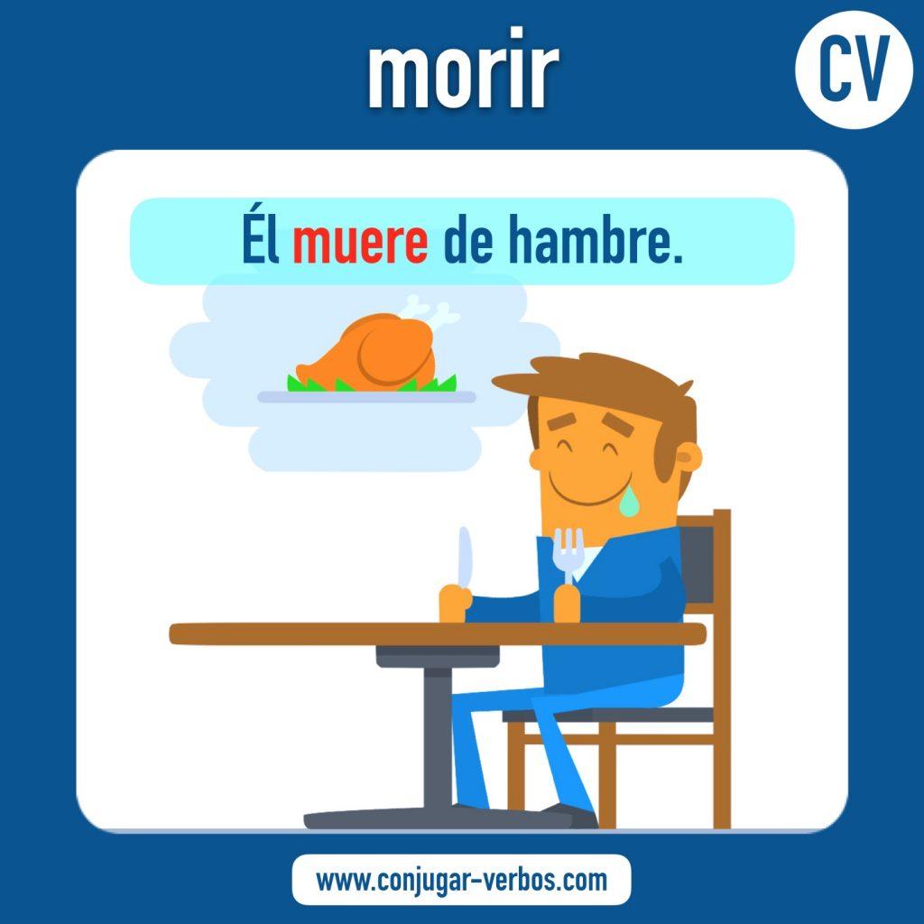 verbo morir   morir   imagen del verbo morir   conjugacion del verbo morir